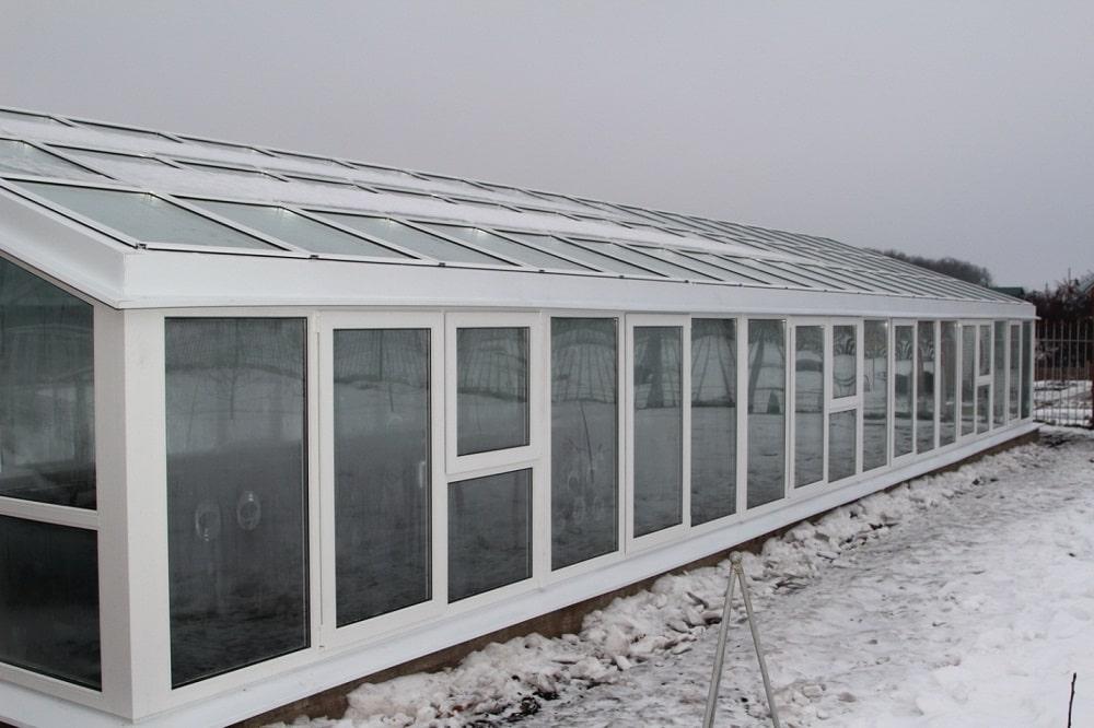 Круглогодичная теплица для выращивания огурцов