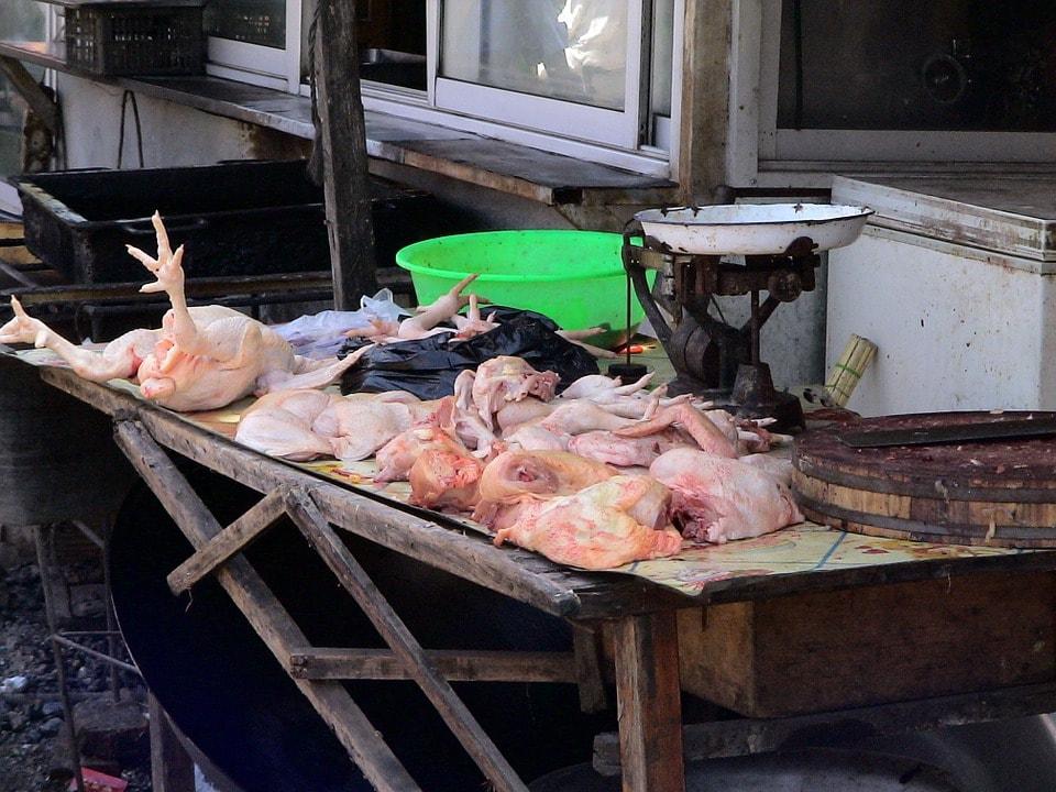Как забить курицу